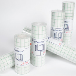 Protector AD - PVC 90µ brillant anti-UV semi-repositionnable avec support prédécoupé