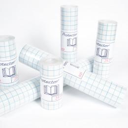 Protector BD - PVC 90µ brillant anti-UV repositionnable avec support prédécoupé