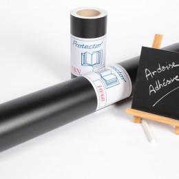 Protector TBN - PVC noir ardoise 150µ adhésif permanent/kraft