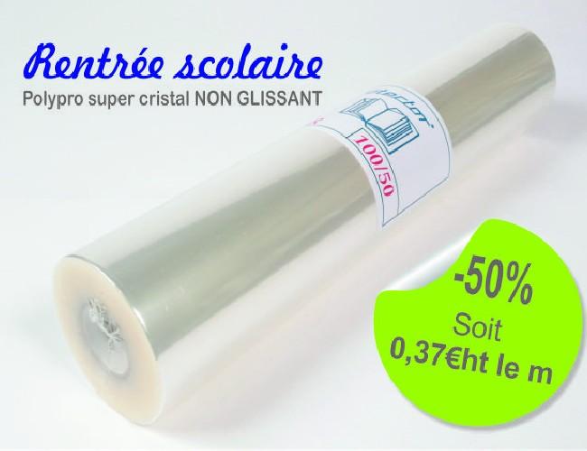 Protector PSR10050 - Polypropylène 65µ brillant non glissant non adhésif